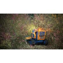 Débroussailleuse forestière radiocommandée